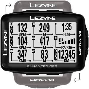 Lezyne Mega Xl GPS - Loaded - One Size Black   Computers