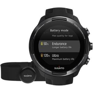Suunto  9 Baro GPS Multisport Watch Bundle - One Size Black   Watches