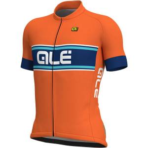 Alé Vetta Jersey - XL Fluro Orange/Blue/Bl   Jerseys