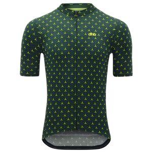 dhb Blok Short Sleeve Jersey -  Alpha - Extra Large Green/Yellow