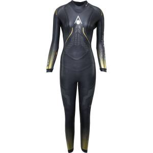 Aqua Sphere Women's Phantom 2.0 Wetsuit - L Black/Gold   Wetsuits