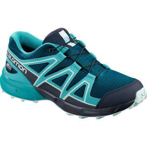 Salomon Kids Speedcross CSWP Shoes - 2.5 Lyons Blue/Bluebird   Shoes