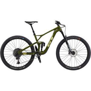 GT Sensor Carbon Expert Bike (2020) - Large Military Green - Gum