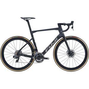 Fuji Transonic 1.1 Disc Road Bike (2020) - 58cm Satin Carbon - Chrom