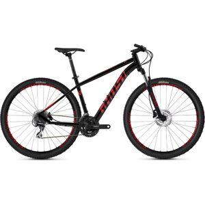 Ghost Kato 2.9 Hardtail Bike (2020) - Large Black - Red