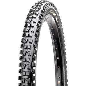 """Maxxis Minion DHF Wired MTB Tyre - 2.5"""" Super Tacky 26"""" Black   Tyres"""