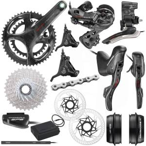 Campagnolo Super Record EPS 12x Disc Groupset - 53/39T x 11-32T 172.