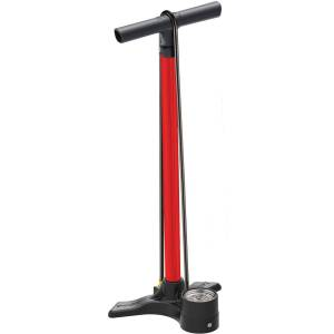 Lezyne Macro Floor Drive ABS Pump - One Size Red   Track Pumps