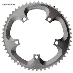 Shimano Dura-Ace FC7800 Double Chainrings - 42t 10 Speed Silver
