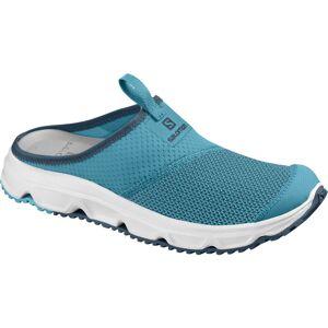 Salomon Women's RX Slide 4.0 Sandal - 5.5 Caneel Bay/Wht/Malla   Shoes