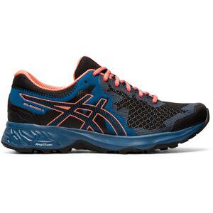 Asics Women's Gel-Sonoma 4 - UK 6 Black/Sun Coral   Trail Shoes