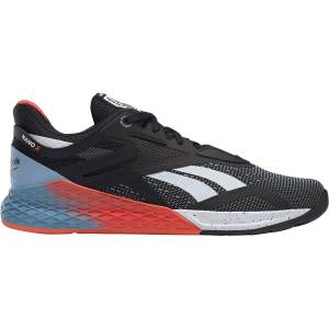 Reebok Nano X Gym Shoe - UK 7 Black/ Teal/ Blue   Fitness Shoes