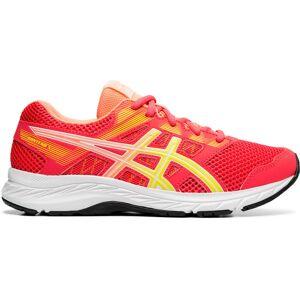 Asics Contend 5 GS Running Shoes - UK 3 Laser Pink/Sour Yuzu