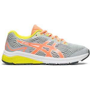 Asics GT-1000 8 GS Running Shoes - UK 4 Piedmont Grey/Sun Co