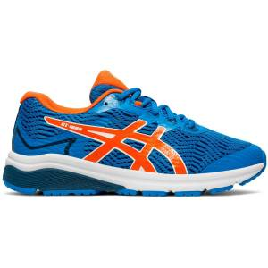 Asics GT-1000 8 GS Running Shoes - UK 4 Directoire Blue/Koi