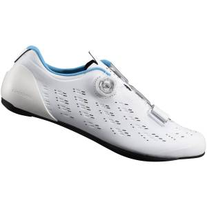 Shimano RP9 Carbon Road Shoes - 48 White   Cycling Shoes