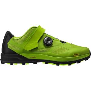 Mavic XA Pro Off Road Shoes - UK 11.5 Lime Green / Pirate