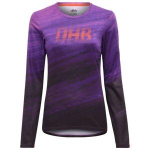 dhb MTB Womens Long Sleeve Trail Jersey - SS19 - UK 8 Purple   Jerseys