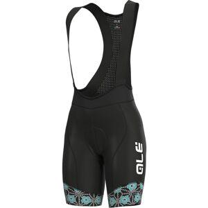 Alé Women's PRS Garda Bib Shorts - S Black/Turquoise   Bib Shorts