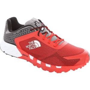 The North Face Flight Trinity Shoes - UK 9 Fiery Red/TNF Black