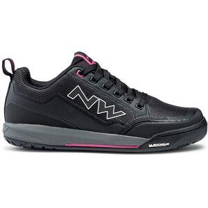 Northwave Women's Clan MTB Shoes - EU 36 Black/Fuschia