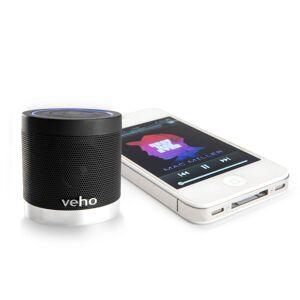 Veho Wireless Bluetooth Speaker - One Size Black   Speakers