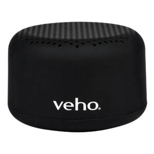 Veho M2 Portable Wireless Bluetooth Speaker - One size Black