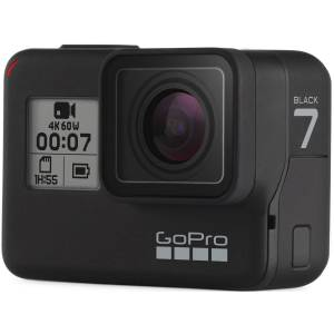 GoPro HERO7 Black - One Size Black   Cameras