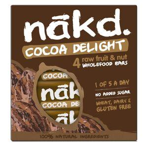 nakd. Fruit and Nut Bars  (4 x 35g) - 4 Pack Cocoa Delight   Bars