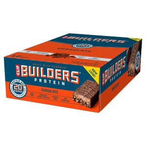 Clif Bar Builders Bar - Box of (12 x 68g) - 12 x 68g 11-20 Chocolate