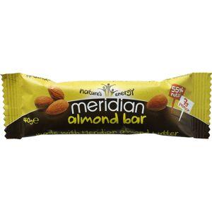 Meridian Almond Bar (18 x 40g) - 18 x 40g 11-20 Almond   Bars