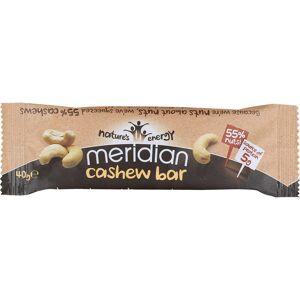 Meridian Cashew Bar (18 x 40g) - 18 x 40g 11-20 Cashew   Bars