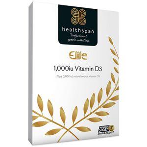 Healthspan Elite Vitamin D3 1,000iu (120 Tabs) - 120 tabs   Vitamin D
