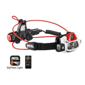 Petzl Nao+ Smart Bluetooth Headtorch - Black/Red   Head Torches