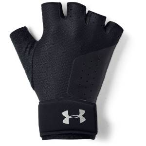 Under Armour Women's Weight Lifting Glove - Small Black /  / Silver