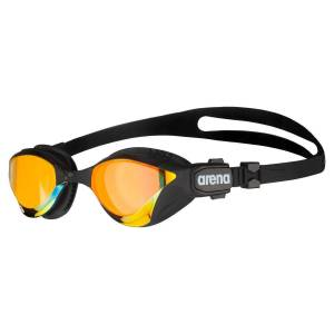 Arena Cobra Tri Swipe Mirror - One Size Copper-Black   Goggles