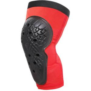 Dainese Junior Scarabeo Knee Guards - L Red-Black   Knee Pads