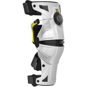 Mobius X8 Knee Braces - M White/Yellow   Knee Pads