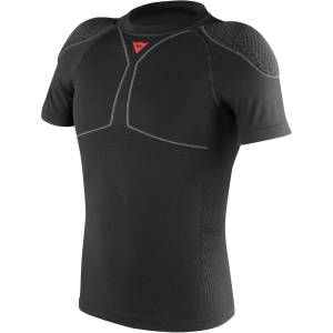 Dainese Trailknit Pro Armour Tee - L Black   Body Protectors