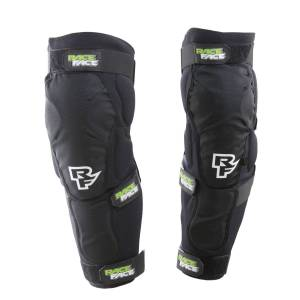 Race Face Flank D30 Leg Pad - Small Stealth   Knee Pads