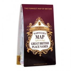 Ordnance Survey Great British Place Names Map - One Size ST&G   Maps