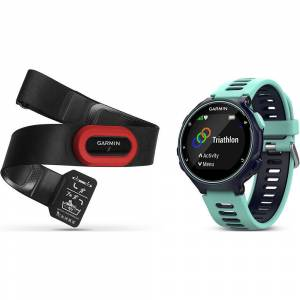 Garmin Forerunner 735XT GPS Watch HRM Bundle 2016 Blue