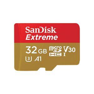 Sandisk 32GB Extreme MicroSDXC Card 2018 Black