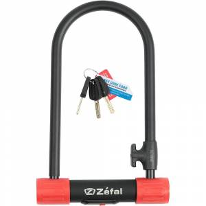 Zefal K-Traz U13 U-Lock  - Gender: Unisex - Color: Black/Red