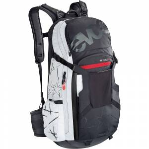 Evoc Trail Unlimited Protector Backpack 20L AW18  - Size: Extra Large - Gender: Unisex - Color: Unlimited Black/White