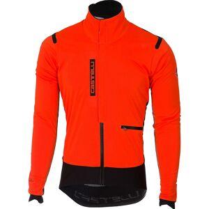 Castelli Alpha Ros Jacket AW19 Orange/Black