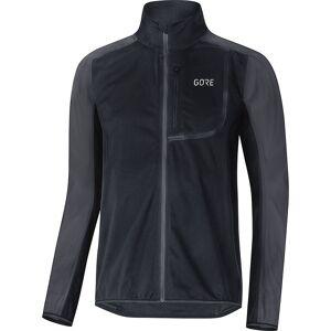 Gore Wear C3 Windstopper Jacket AW18  - Size: S - Gender: Unisex - Color: Black/Terra Grey