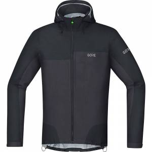 Gore Wear C5 Gore-Tex Active Trail Hooded Jacket AW18 Black/Terra Grey