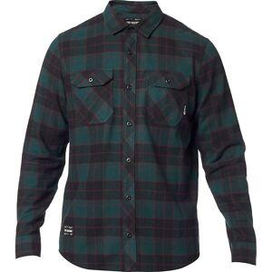 Fox Racing Traildust 2.0 Flannel Shirt AW19 Emerald