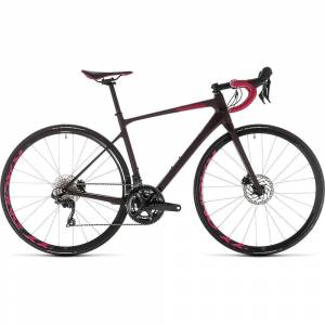 "Cube Axial WS GTC SL Disc Womens Road Bike 2019  - Size: 56cm (22"") - Gender: Female - Color: Hazy Purple/Berry"
